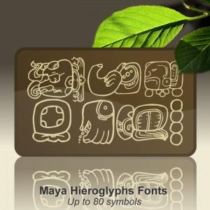 Maya Hieroglyphs Font