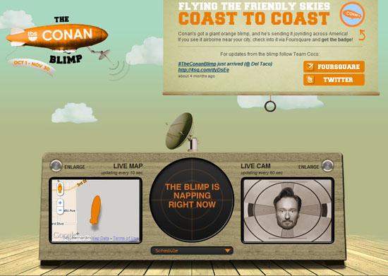 The Conan Blimp