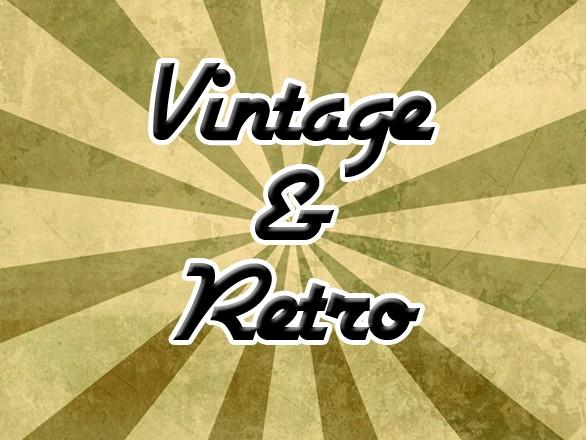 Retro and Vintage – a Web Design Trend 2012