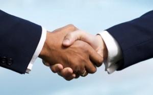 Stock photo handshake