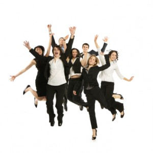 Stock photo jumping