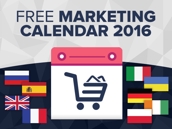 Important Shopping Dates in 2016 – Free Marketing Calendar – for Europe (Part 2)