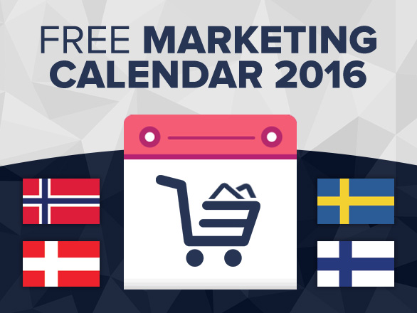 Free 2016 Ecommerce Calendars – Nordic Countries (Part 3)