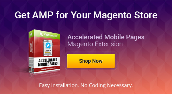 Accelerated Mobile Pages Magento Extension