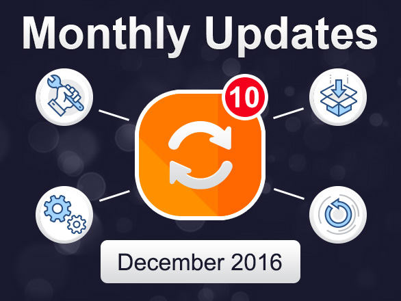 Plumrocket Magento Extensions Monthly Updates – December 2016
