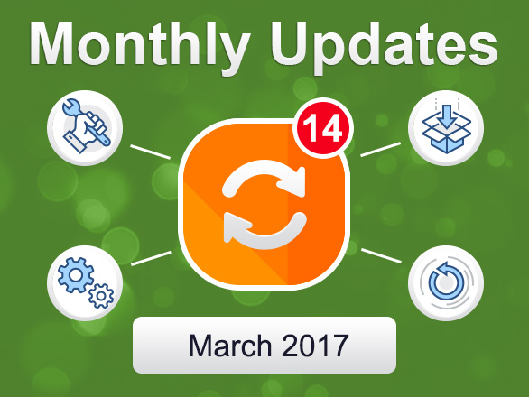 Plumrocket Magento Extensions Monthly Updates – March 2017