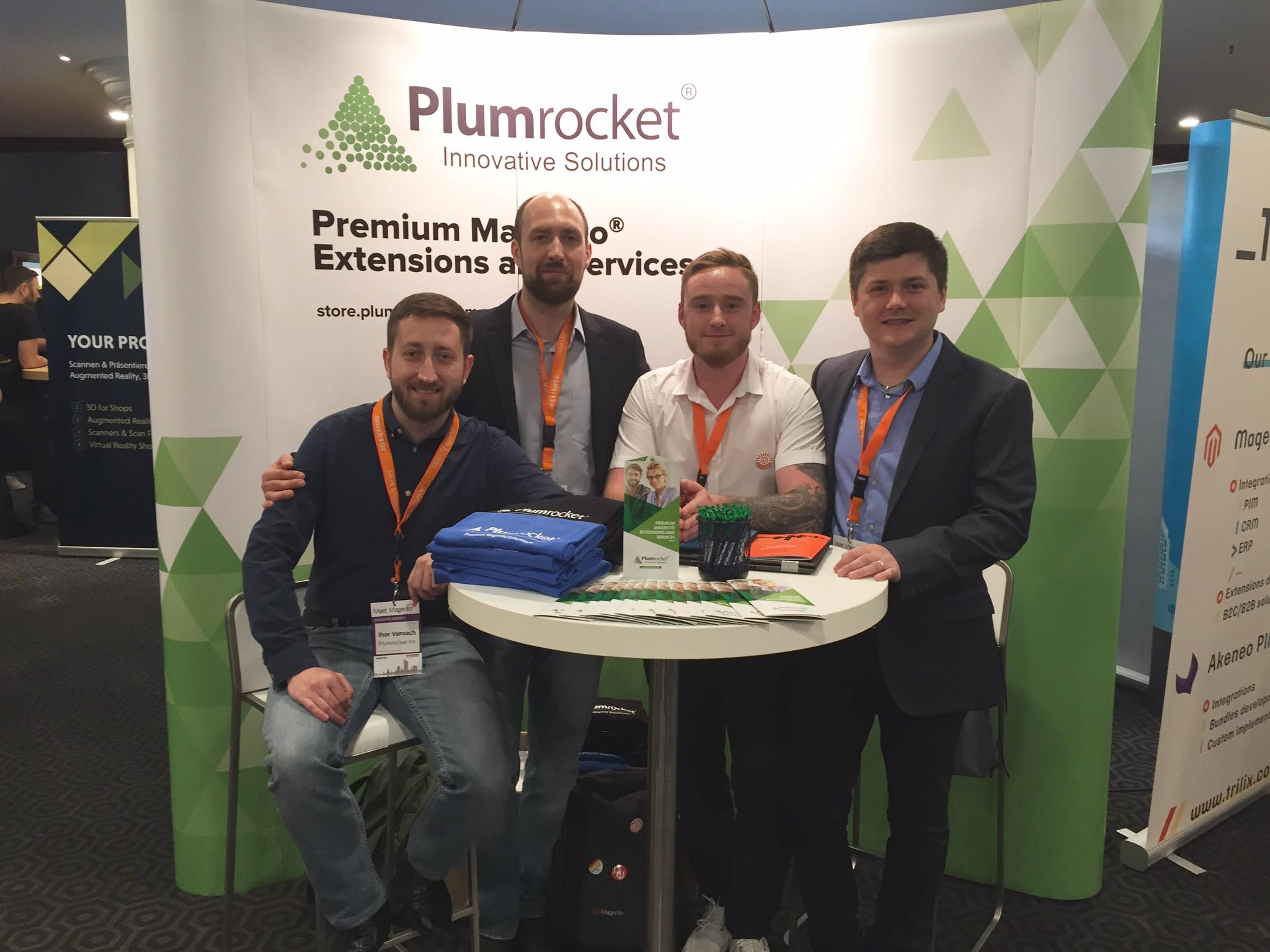 Plumrocket Meet Magento Partner