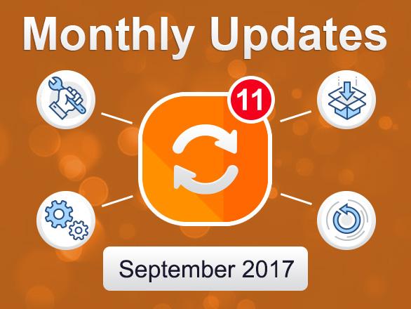 Plumrocket Magento Extensions Monthly Updates – September 2017