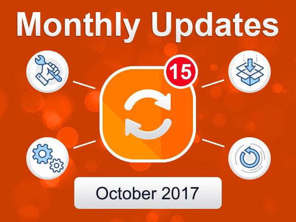 Plumrocket Magento Extensions Monthly Updates – October 2017