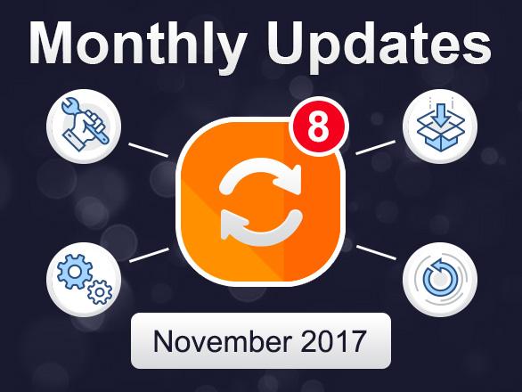 Plumrocket Magento Extensions Monthly Updates – November 2017