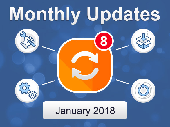 Plumrocket Magento Extensions Monthly Updates – January 2018