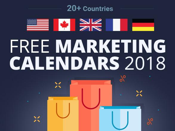 Free Marketing Calendars 2018