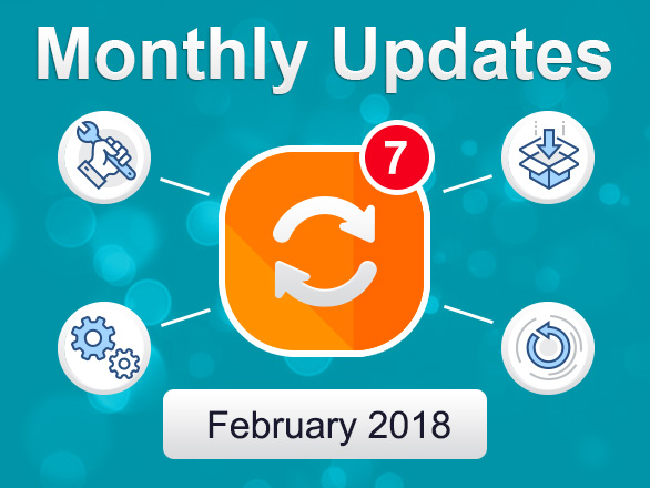 Plumrocket Magento Extensions Monthly Updates – February 2018