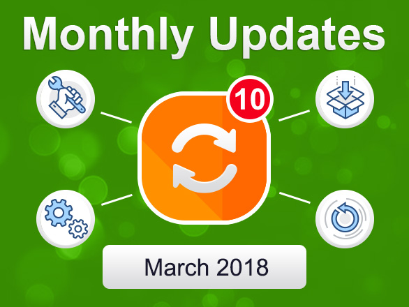 Plumrocket Magento Extensions Monthly Updates – March 2018