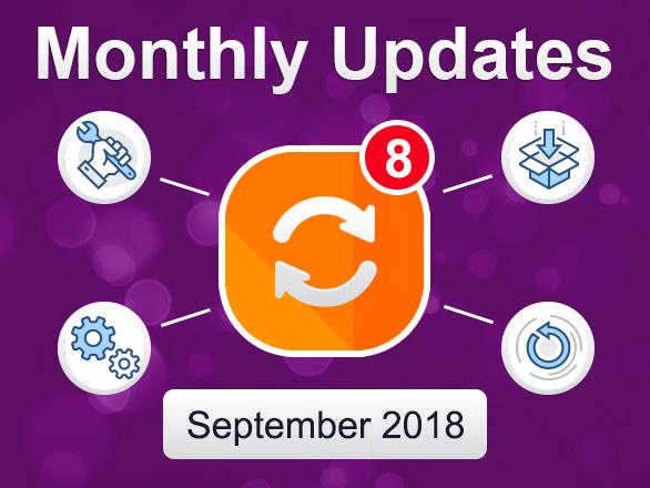 Plumrocket Magento Extensions Updates – August-September 2018