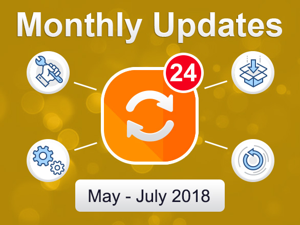 Plumrocket Magento Extensions Updates – May – July 2018