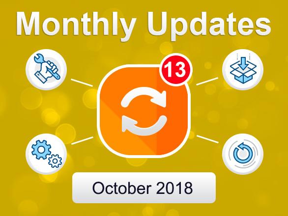 Plumrocket Magento Extensions Updates – October 2018
