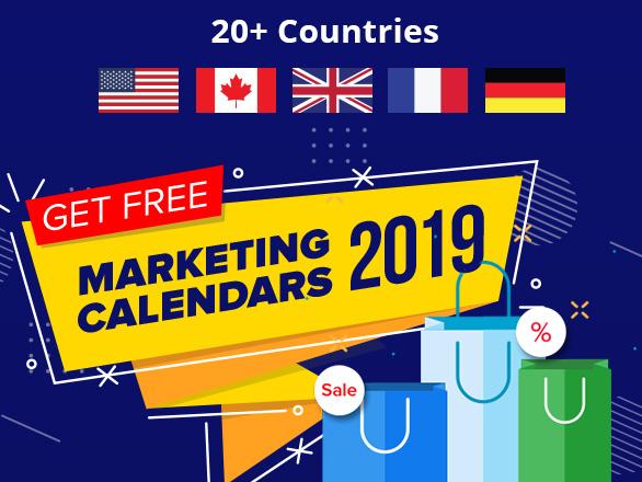 Free Marketing Calendars 2019