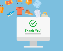 check out thank you page extension