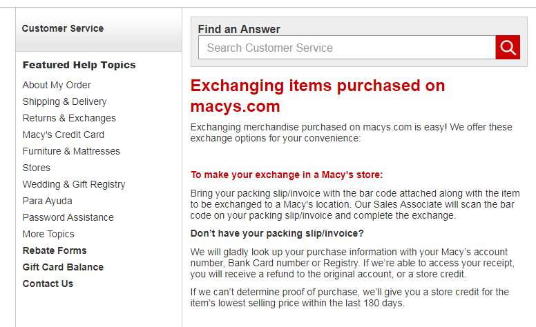 macy's store credit