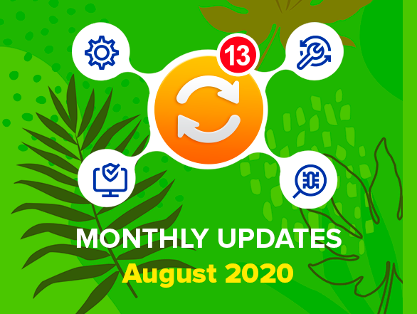Magento 2 Extensions Monthly Updates – August 2020