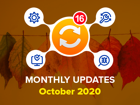 Magento 2 Extensions Monthly Updates – October 2020