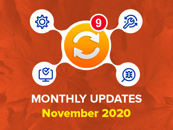 Magento 2 Extensions Monthly Updates – November 2020