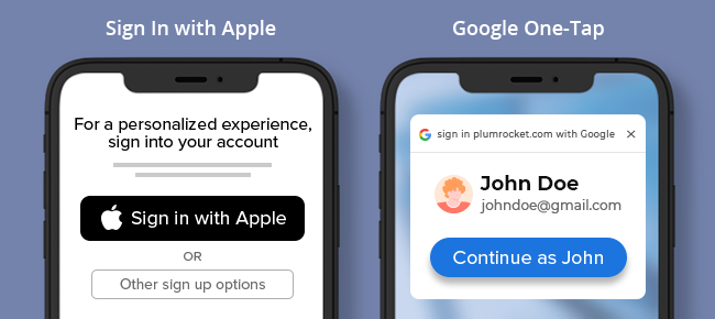 """The Benefits of """"Google One-Tap Login"""" & """"Sign-in with Apple"""" in Magento"""