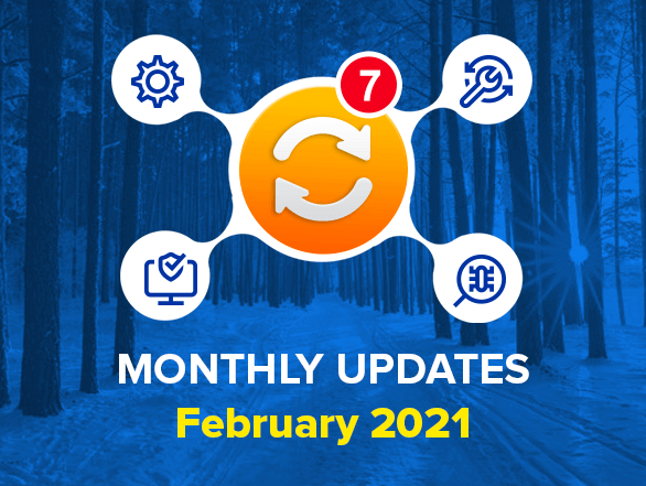 Magento 2 Extensions Monthly Updates – February 2021