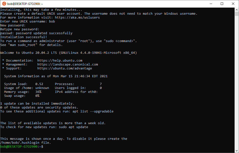 ubuntu-installing