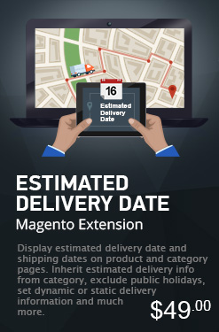 Estimated Delivery Date Magento Extension