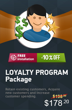 Magento Loyalty Program Package