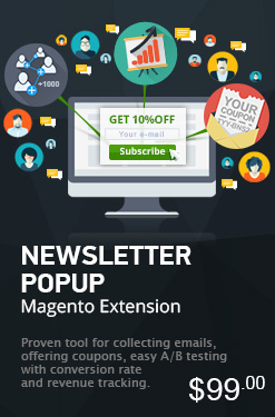 Newsletter Popup Magento Extension