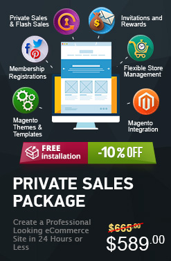Magento Private Sales Package