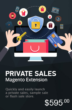 Private Sales Magento Extension