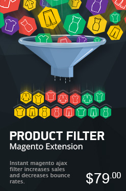 Product Filter Magento Extension