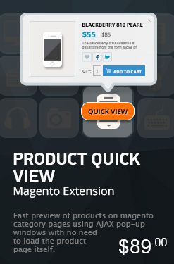 Magento Product Quick View