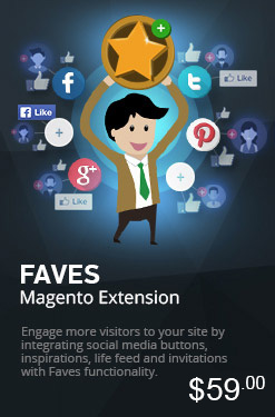 Magento Faves Extension
