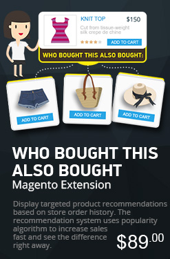 Magento Who Bought This Also Bought Extension