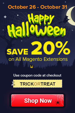 Magento Halloween Sale