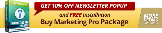 10% Discount Magento Newsletter Popup Extension