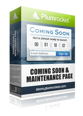 Magento Coming Soon & Maintenance Page Extension