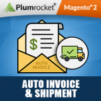 Auto Invoice & Shipment Extension for Magento 2