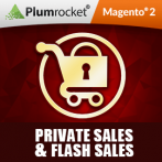 Private Sales & Flash Sales Extension for Magento 2