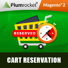 Magento 2 Cart Reservation Extension