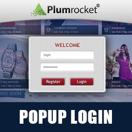 Popup Login Magento Extension