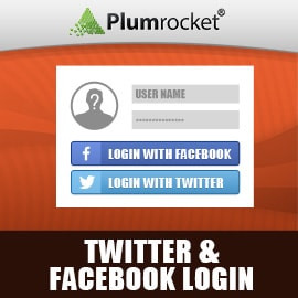 Magento Twitter & Facebook Login Extension