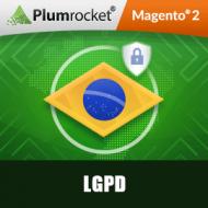 LGPD Brazil Magento 2 Extension - Data Protection (LGPDP)