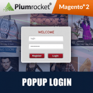 Magento 2 Popup Login Extension