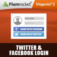 Magento 2 Twitter & Facebook Login Extension